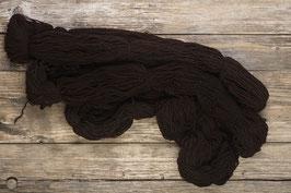 Pure laine vierge à tricoter marron foncé