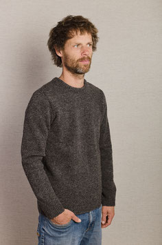Pull col rond anthracite