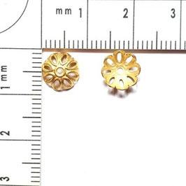 Perleneinfasser in Gold-, Silber-, Weisssilber-, Bronze- und Bronzerotfarben