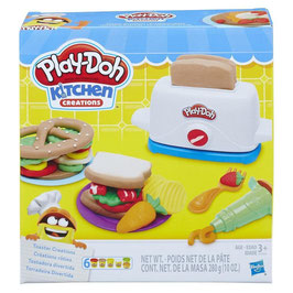 Tostadora Divertida Play Doh Kitchen Creations