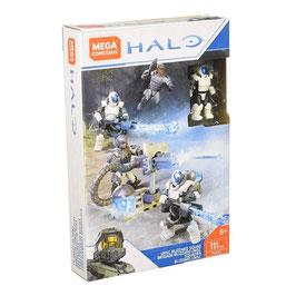 Halo Fire Team Escuadrón Blizzard UNSC Mega Construx
