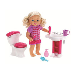 Little Mommy Bebita Interactiva Hora de ir al Baño Fisher Price