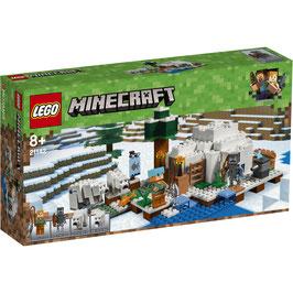 El Iglú Polar Lego Minecraft