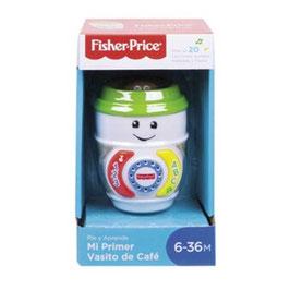 Ríe y Aprende Mi Primer Vasito de Café Fisher Price