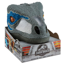 Jurassic World Máscara Interactiva Velociraptor Blue