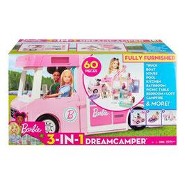 Barbie Camper de los Sueños 3 en 1