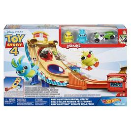 Toy Story 4 Buzz Lightyear Rescate en la Feria Hot Wheels