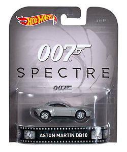 Aston Martin DB10 Spectre 007 Hot Wheels Retro