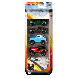 Matchbox Top Gun 5-Pack Vehículos