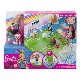 Barbie Club Chelsea Fútbol con perritos