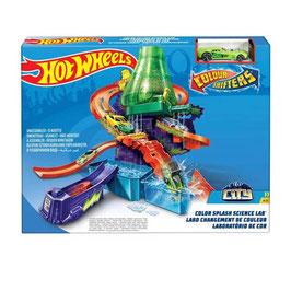 Hot Wheels City Laboratorio Científico Color Shifters
