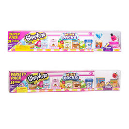 Shopkins Mini Packs 12 Pack