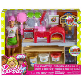 Barbie Chef de Pizza Cocina y Crea