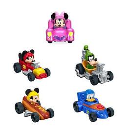 Mickey Mouse Surtido Vehículos de Carreras Fisher Price