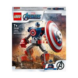 Armadura Robótica del Capitán América  Lego Marvel Avengers