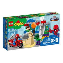 Las Aventuras de Spiderman y Hulk Lego Duplo