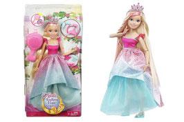 Gran Princesa Barbie Reino de Peinados Mágicos