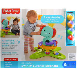 Fisher Price Elefantito Rampas Divertidas