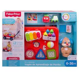 Ríe y Aprende Vagón de Aprendizaje de Perrito Fisher Price