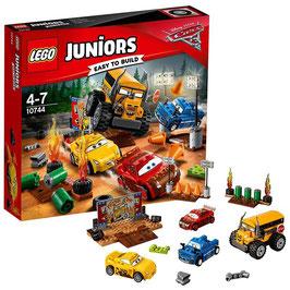 Cars 3 Carrera Crazy 8 de Thunder Hollow Lego Junior