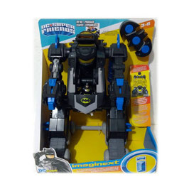 Imaginext Bat Bot Transformación Fisher Price