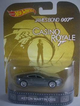 "Aston Martin OBS ""James Bond 007, Casino Royale Hot Wheels Retro"