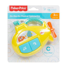 Submarino Musical Portátil Fisher Price