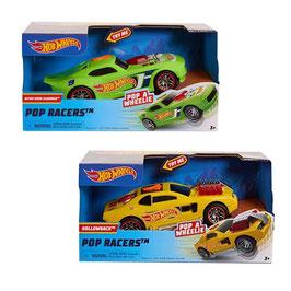 Hot Wheels Pop Racers - Derrapes y Luces