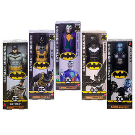 """DC Cómics Batman Missions Surtido Figura 12"""""""