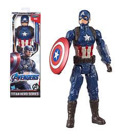 """Marvel Avengers Figura Básica Capitán América 12"""""""