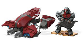 Vehículo Fantasma Banished Halo Mega Construx