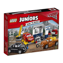 Cars 3 Taller de Smokey Lego Juniors