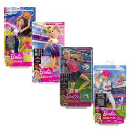Barbie Surtido Movimientos Deportivos