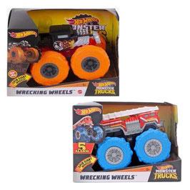 Monster Trucks Wrecking Wheels Surtido Escala 1:43 Hot Wheels
