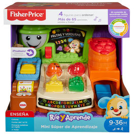 Fisher Price Ríe y Aprende Mini Super de Aprendizaje