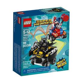 Mighty Micros: Batman vs Harley Quinn Lego DC Super Heroes