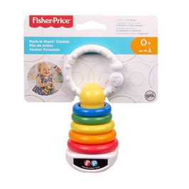 Pila de Aritos Claker Fisher Price