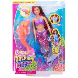 Barbie Sirena Transformación Mágica Barbie y los Delfines Mágicos