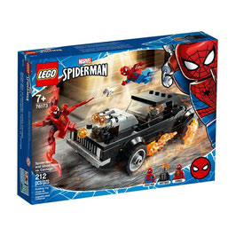 Spiderman y el Vengador Fantasma vs Carnage Lego Marvel Spiderman