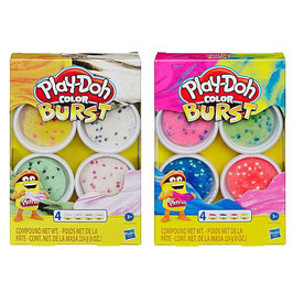 Play Doh Surtido Color Burst 4-Pack
