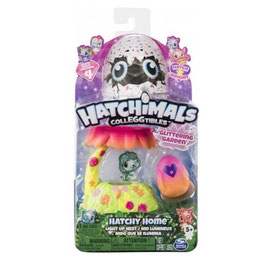 Hatchimals Colleggtibles Hatchy Home Nido que se Ilumina
