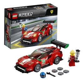 """Ferrari 488 GT3 """"Scuderia Corsa """" Lego Speed Champions"""