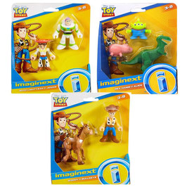 Imaginext Surtido de Figuras 2-Pack Toy Story