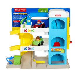 Little People Garage Vecinos Amables Fisher Price