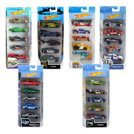 Hot Wheels Paquete de 5 vehículos