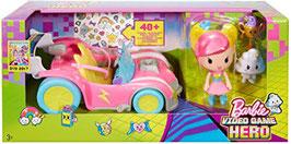 Vehículo Virtual Barbie en un Mundo de Videojuegos