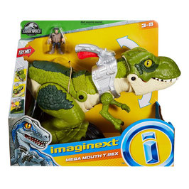 Imaginext Jurassic World T-Rex Mordida Feroz Fisher Price