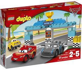 Cars 3 Carrera de la Copa Pistón Lego Duplo