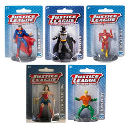 DC Comics Surtido Mini Figuras Justice League