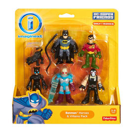 Imaginext DC Super Friends 5-Pack Fisher Price